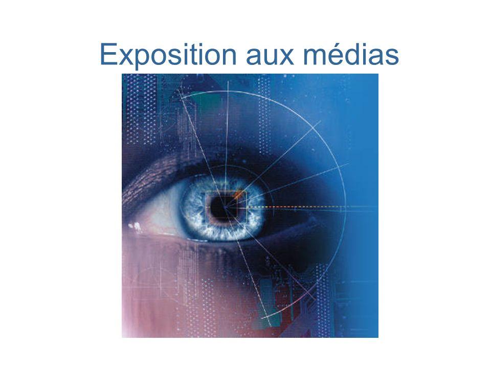 Exposition aux médias