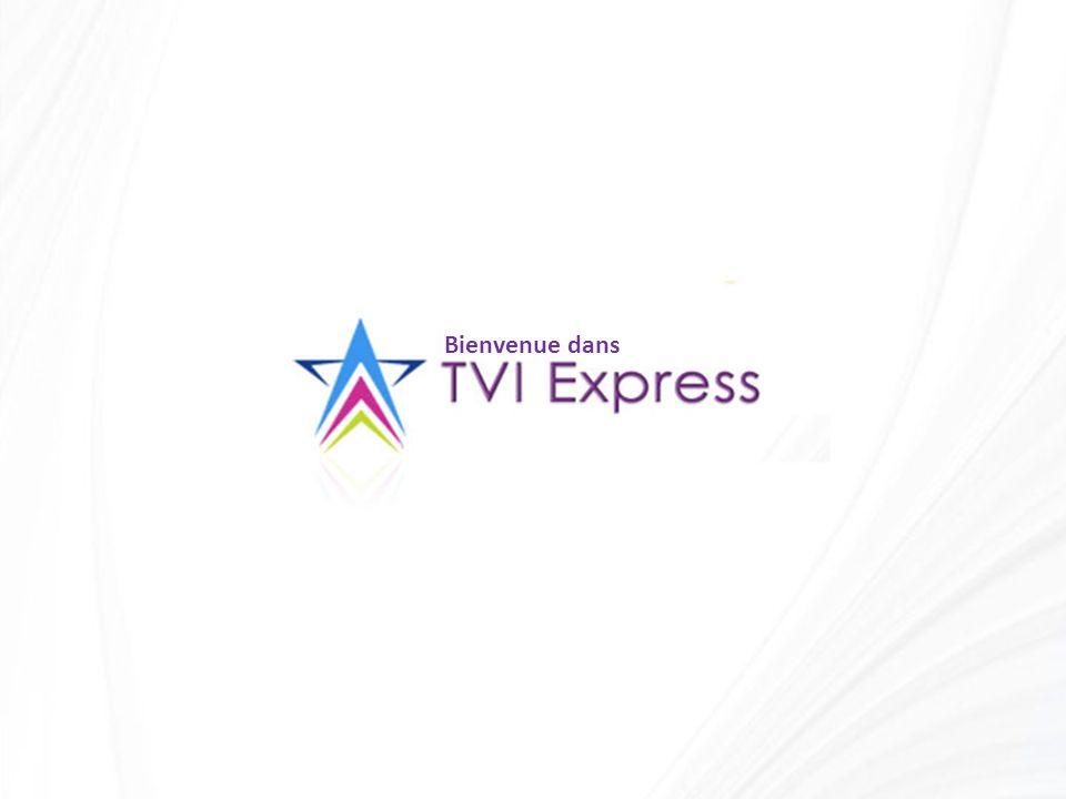 Lorsque vous rejoignez TVI Express, vous obtenez une position au niveau 1 dans le tableau voyage puis le tableau se remplit, une fois le niveau 1 rempli le tableau va se diviser, vous donnant une place au niveau suivant.