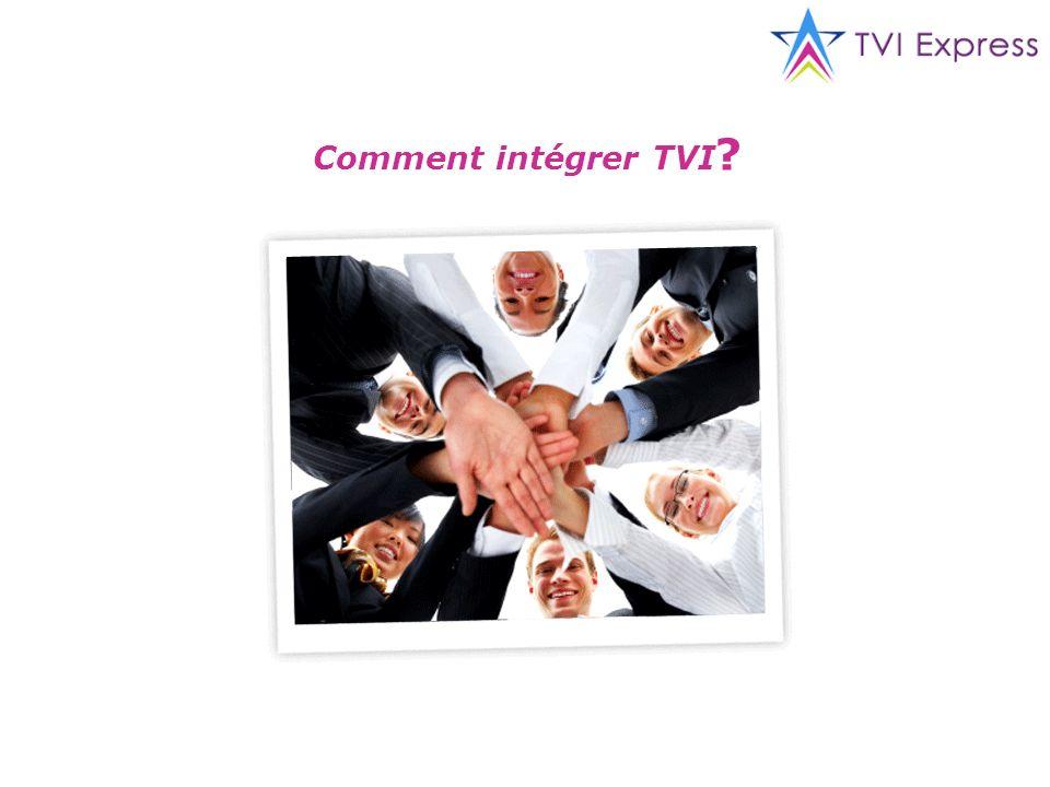 Comment intégrer TVI ?