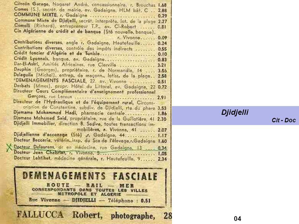 Djidjelli Cit - Doc 04