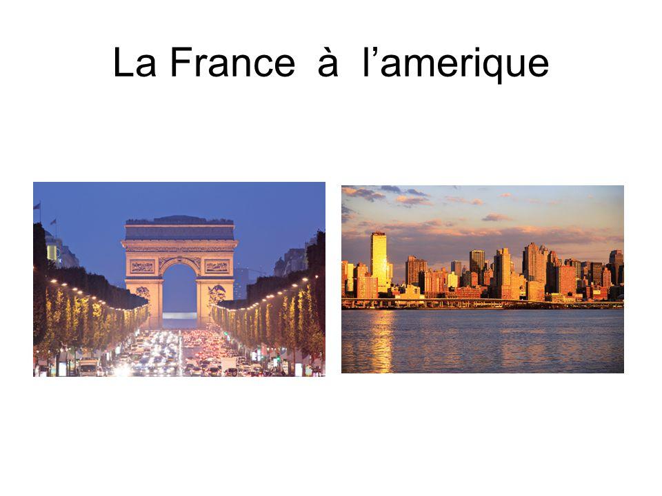 La France à lamerique