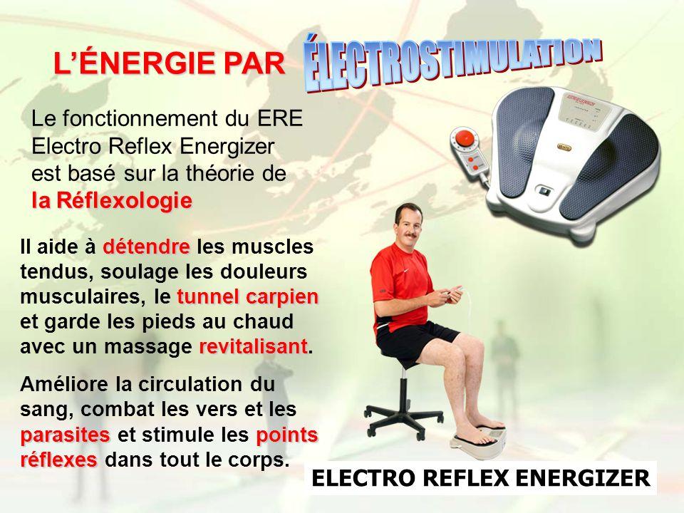 la Réflexologie Le fonctionnement du ERE Electro Reflex Energizer est basé sur la théorie de la Réflexologie ELECTRO REFLEX ENERGIZER LÉNERGIE PAR dét