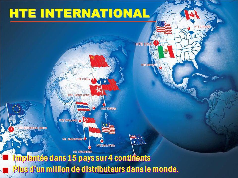 Implantée dans 15 pays sur 4 continents Plus dun million de distributeurs dans le monde. Implantée dans 15 pays sur 4 continents Plus dun million de d