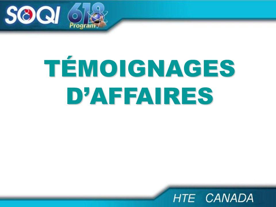 TÉMOIGNAGES DAFFAIRES