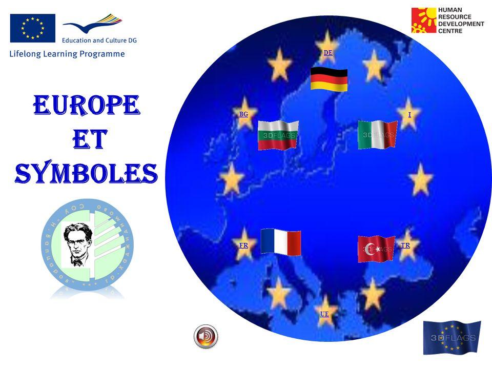 DE BG I FRTR EUROPE ET SYMBOLES UE