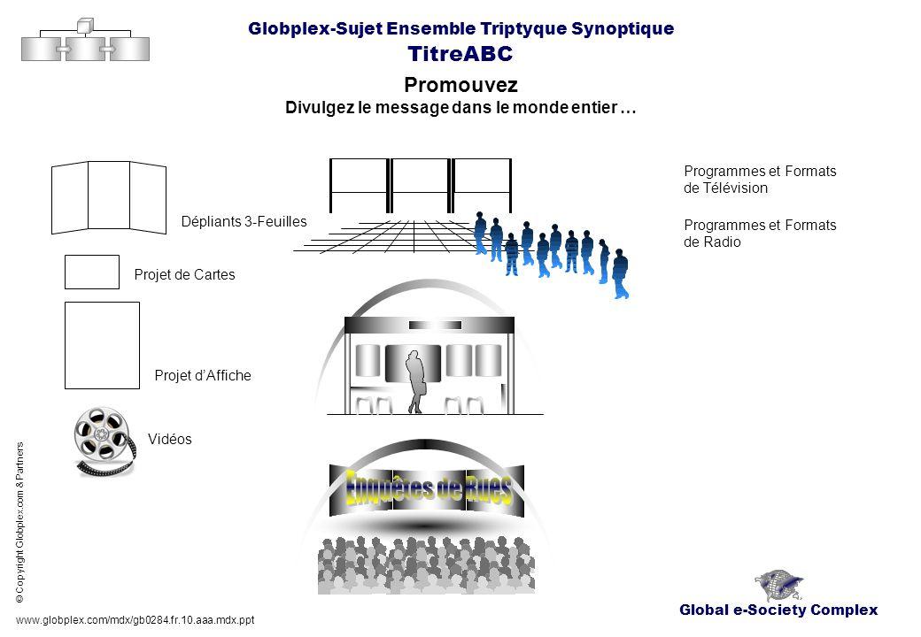 Global e-Society Complex Globplex-Sujet Ensemble Triptyque Synoptique TitreABC Promouvez Divulgez le message dans le monde entier … www.globplex.com/m
