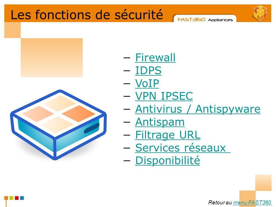 Arkoon Network Security © 2008 Les fonctions de sécurité Firewall IDPS VoIP VPN IPSEC Antivirus / Antispyware Antispam Filtrage URL Services réseaux D