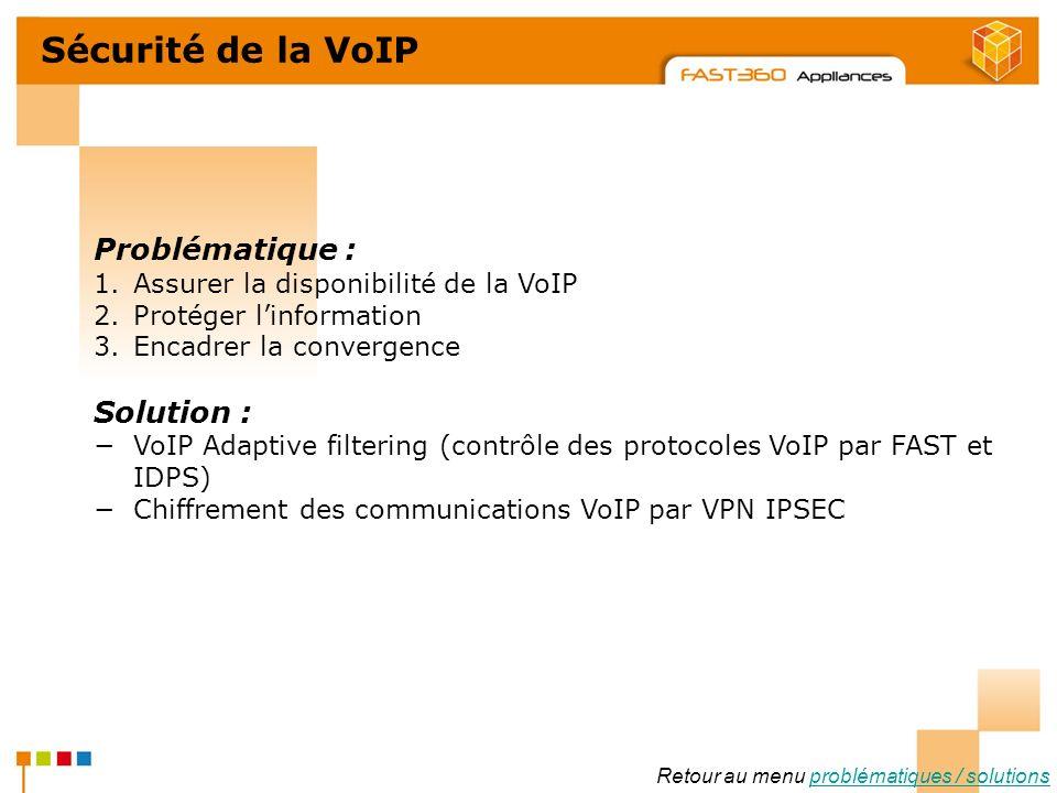 Arkoon Network Security © 2008 Sécurité de la VoIP Problématique : 1.Assurer la disponibilité de la VoIP 2.Protéger linformation 3.Encadrer la converg
