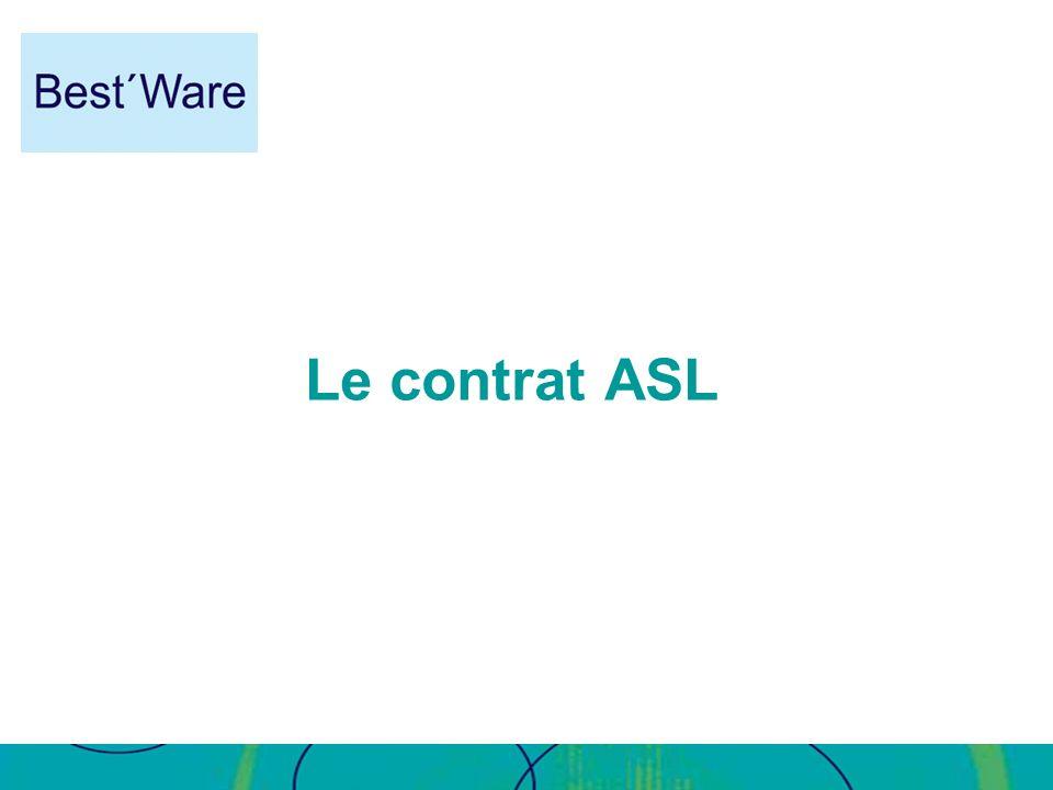 Le contrat ASL