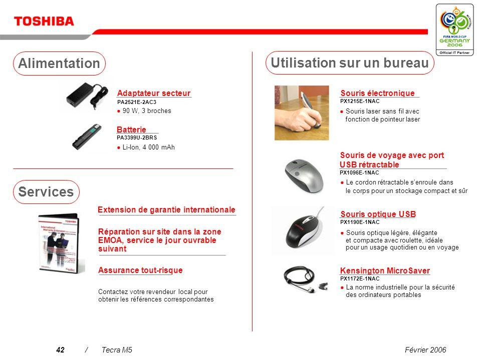 Février 200641/Tecra M5 Tuner TV USB DVB-T PX1211E-1TVD Télévision terrestre numérique compatible DVB-R gratuite antenne incluse* Casque stéréo sans f