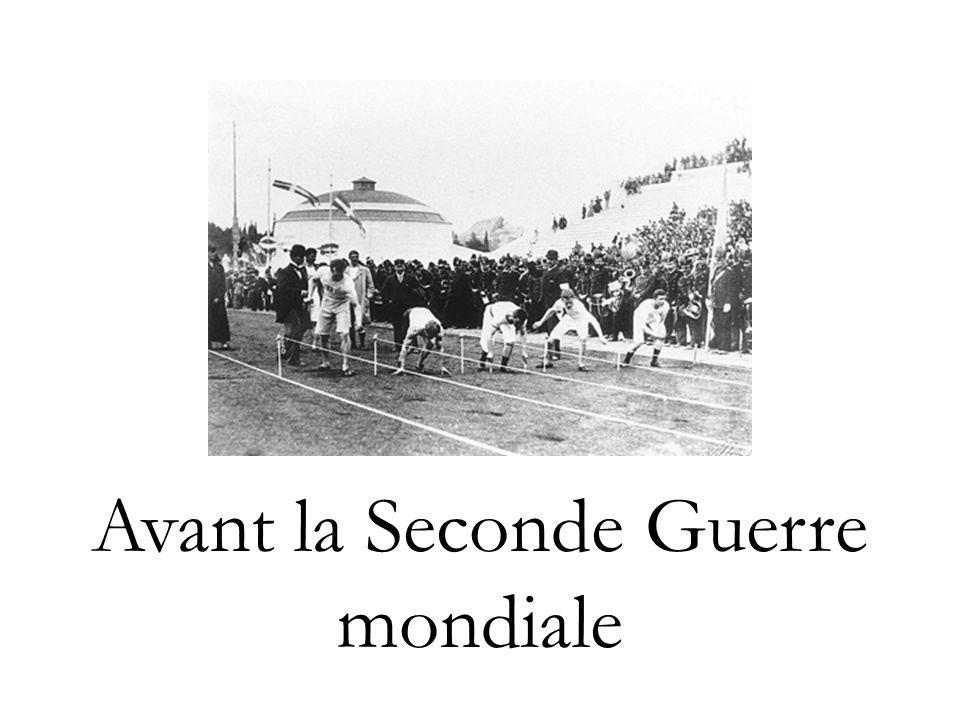 Survol (1) 1894 - Institutionnalisation du Comité International Olympique (CIO) par le baron Pierre de Coubertin.