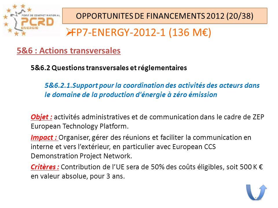 5&6 : Actions transversales 5&6.2 Questions transversales et réglementaires 5&6.2.1.Support pour la coordination des activités des acteurs dans le dom