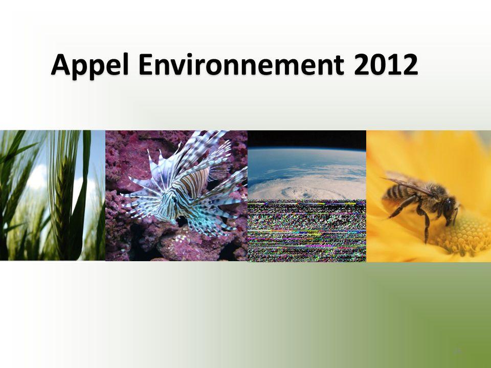 Appel Environnement 2012 25
