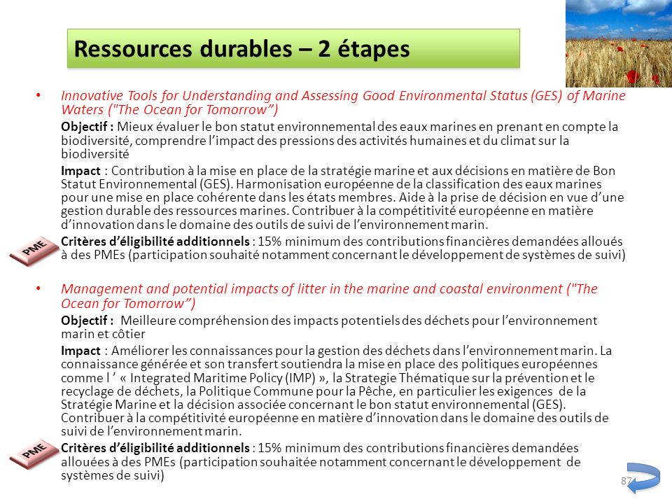 Innovative Tools for Understanding and Assessing Good Environmental Status (GES) of Marine Waters (