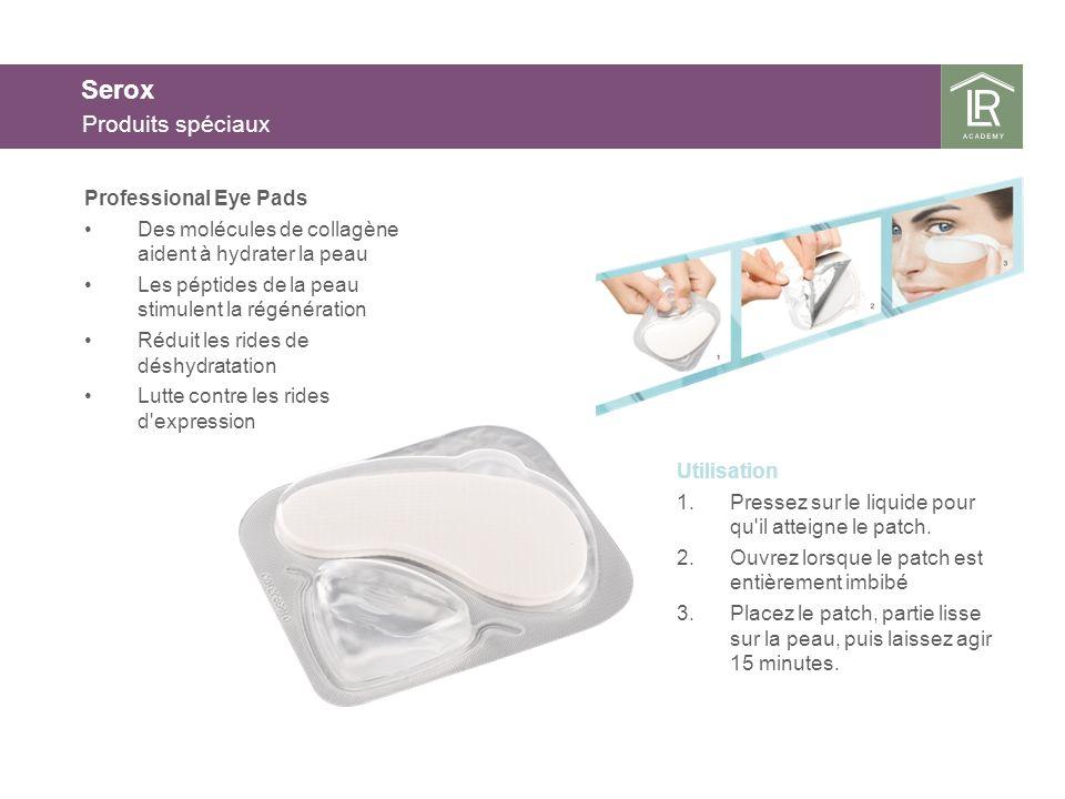 Serox Les principaux principes actifs de Serox L Argireline ® est une alternative au botox, sans effet paralysant pour les muscles.