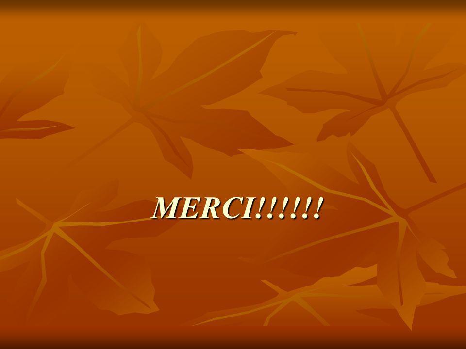 MERCI!!!!!!