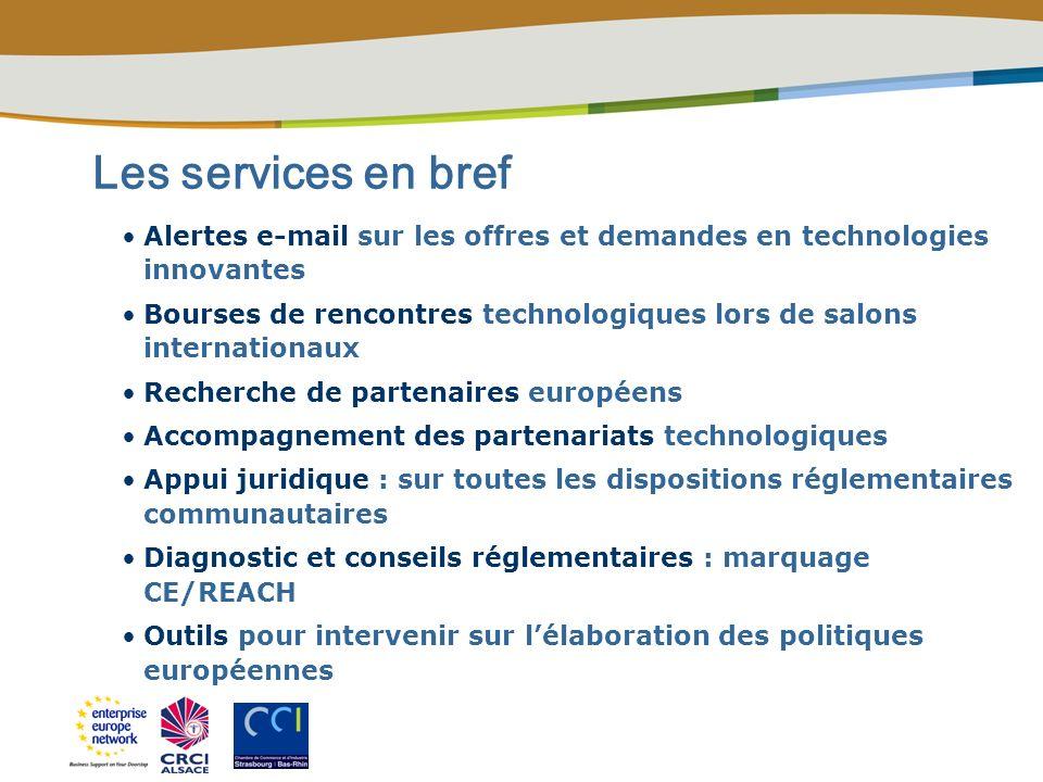 Contact Enterprise Europe Network en Alsace 03 88 76 42 37 entreprise.europe@strasbourg.cci.fr Enterprise Europe Alsace est membre du consortium Grand Est qui réunit : lAlsace, la Bourgogne, la Champagne-Ardenne, la Franche- Comté, la Lorraine.