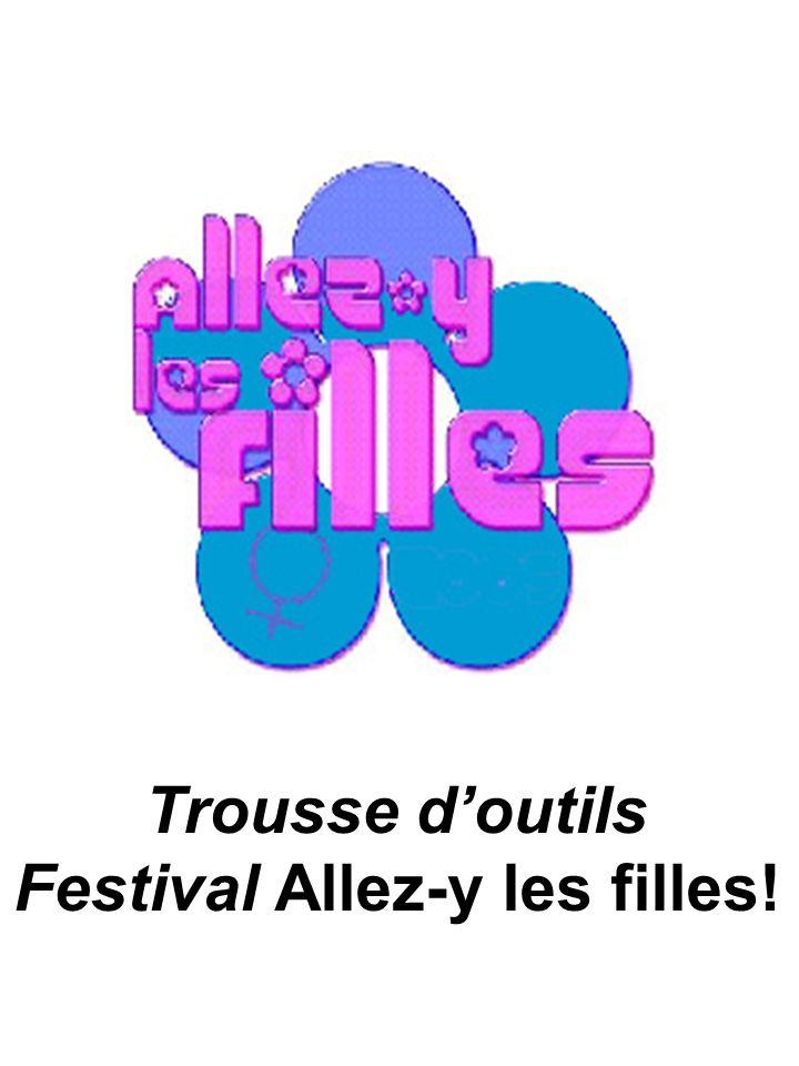 Trousse doutils Festival Allez-y les filles!