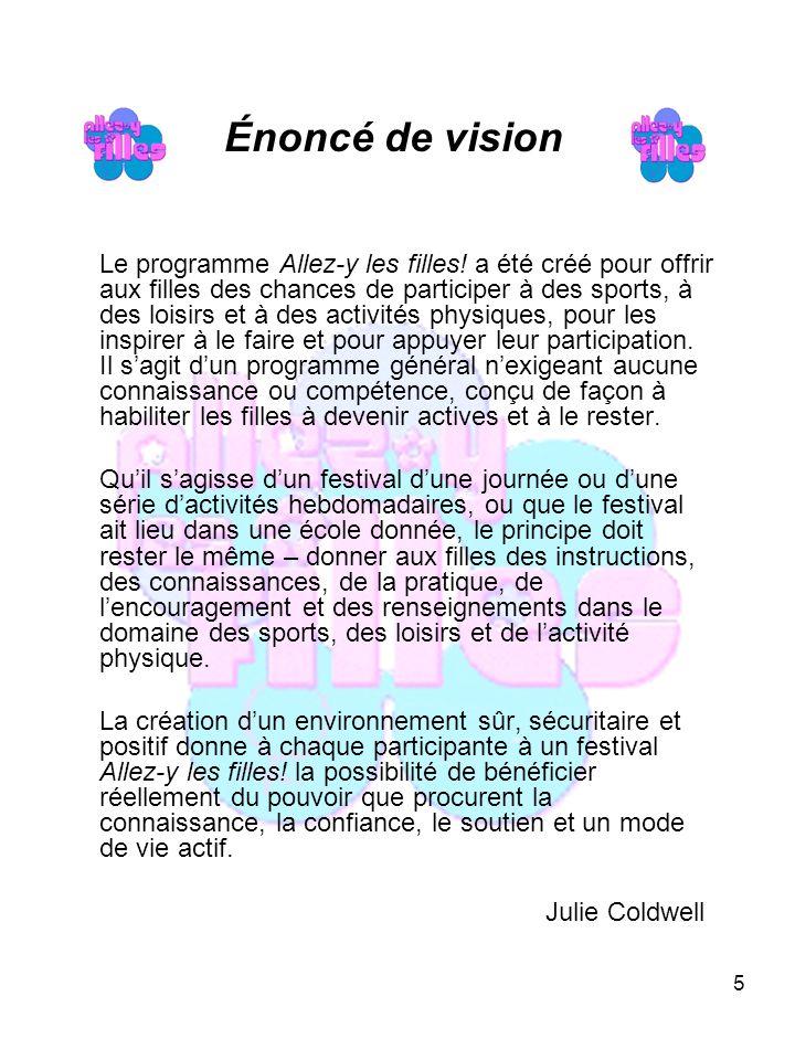 26 Carte des régions Ministère du Mieux-être de la Culture et du Sport Direction du sport, des loisirs et de la vie active
