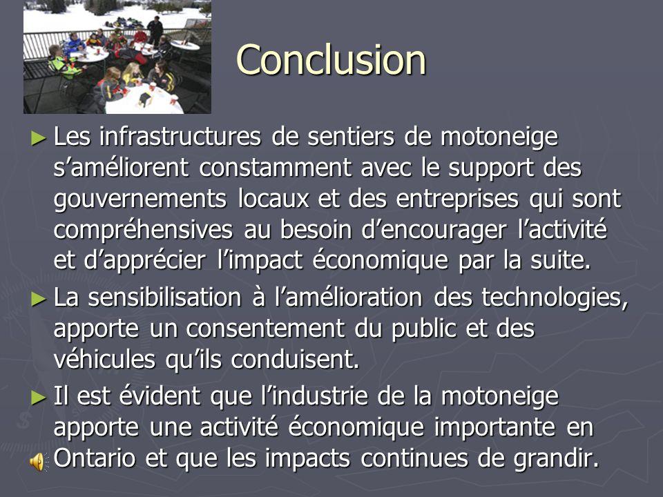 Future de la motoneige La motoneige va demeurer une forme récréative de plein air unique pendant lhiver.