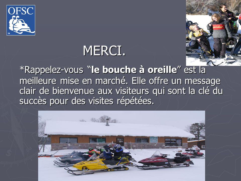 La motoneige est reconnue comme une opportunité hivernale de premier plan par le Ministère du Tourisme.