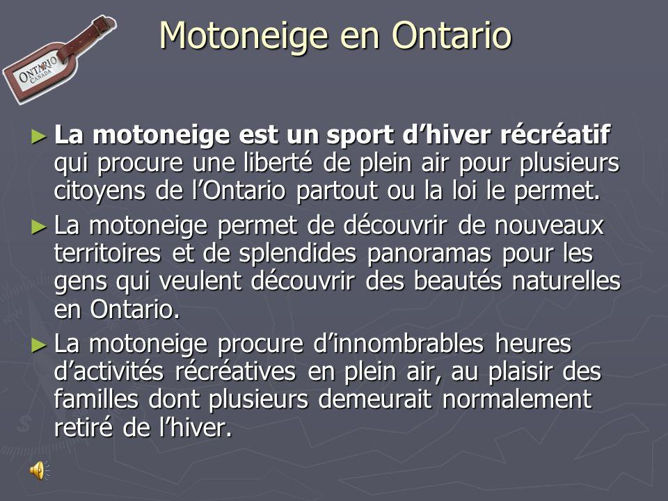 Par la suite les utilisateurs ont débuté la formation de clubs de motoneiges pour permettre un style de vie sécuritaire dans leurs communautés.