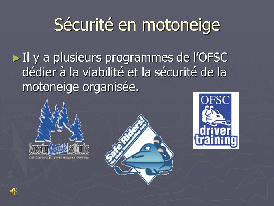 Les clubs de lOFSC investi plus de $20 millions annuellement pour lopération et le damage des 43,000 kilomètres de sentiers en Ontario.