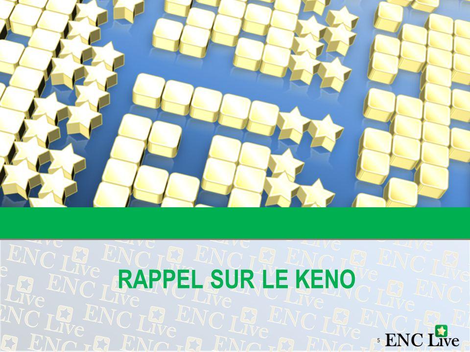 RAPPEL SUR LE KENO 5