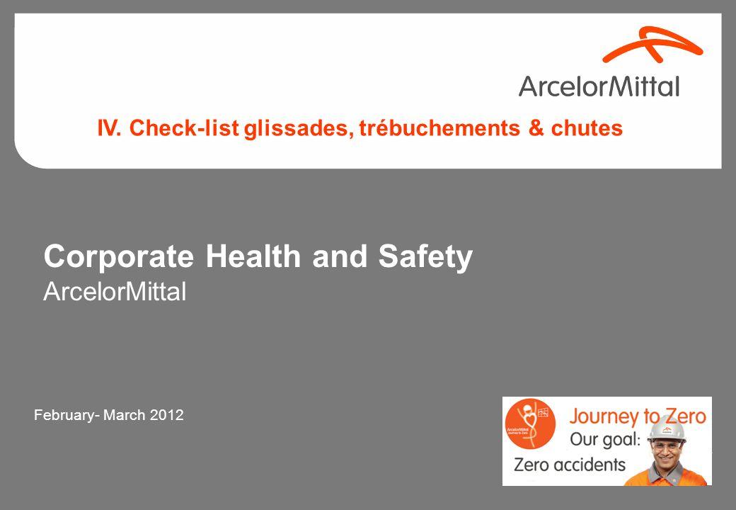 JRem_2011 44 Contrôles sécurité –Les contrôles périodiques et des inspections des escaliers, des caillebotis et les méthodes de fixation des grilles,