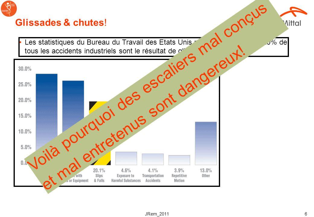 JRem_2011 16 Normes de sécurité pour les escabeaux Profondeur de marche t = min.