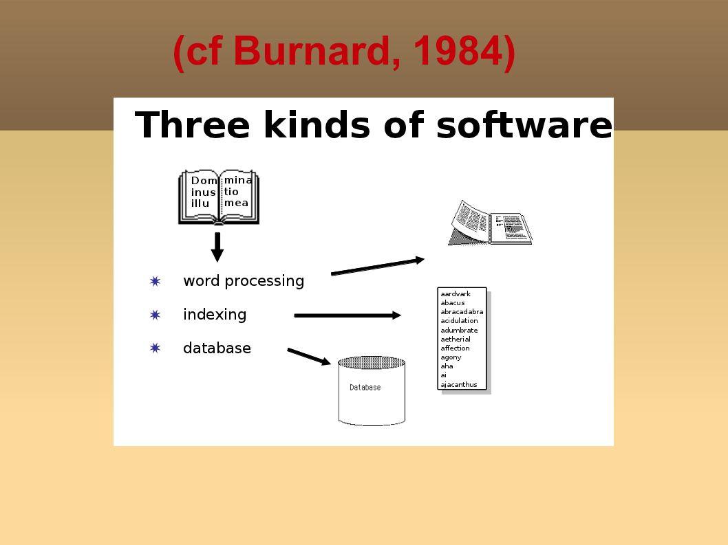 (cf Burnard, 1984)
