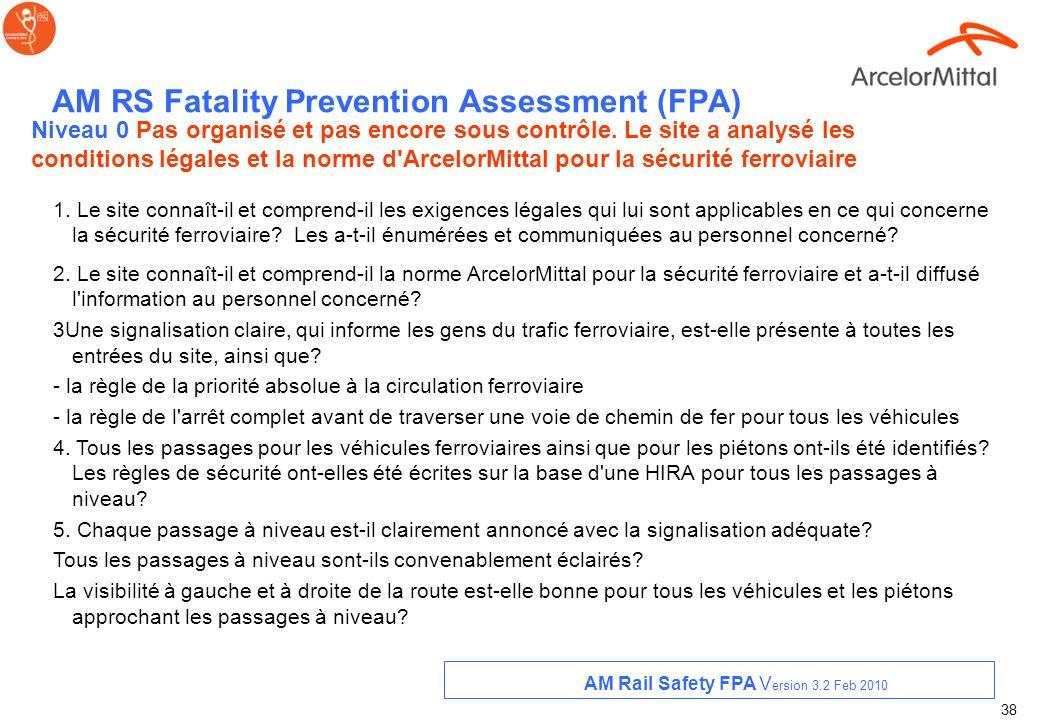 37 Appendix AM FPA Sécurité Rails Version 3.2 Feb 2010