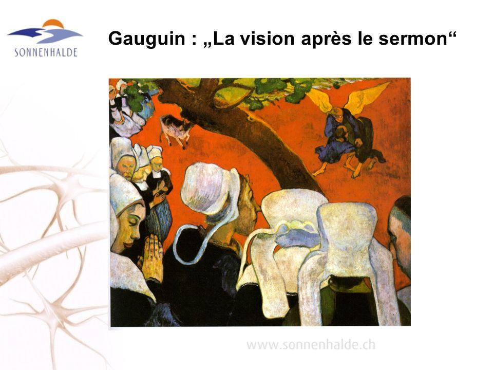 Gauguin : La vision après le sermon