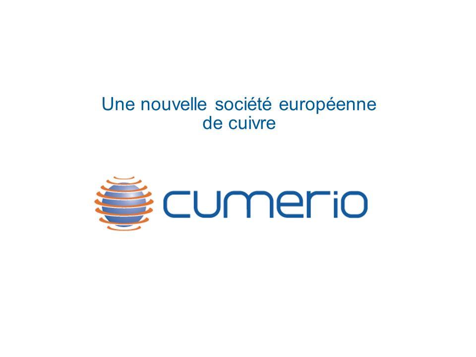 Une nouvelle société européenne de cuivre