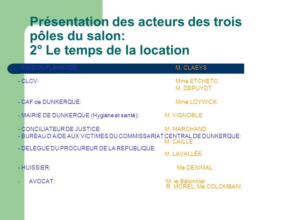 Pôle 3: La sortie des lieux - La Chambre Régionale des Propriétaires et copropriétaires du Nord Pas de Calais et de la Somme: Concernant les propriétaires: - Relocation - Etat des lieux - Dégradations M.