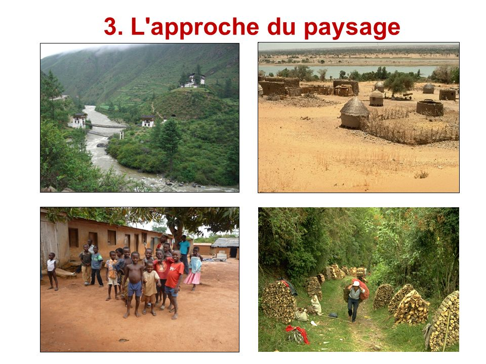 3. L'approche du paysage