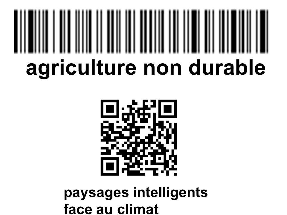 paysages intelligents face au climat agriculture non durable