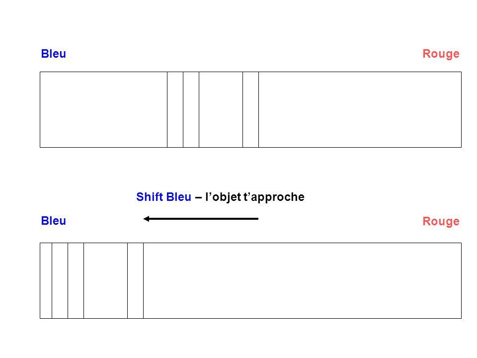 BleuRouge Bleu Rouge Shift Rouge – lobjet séloigne