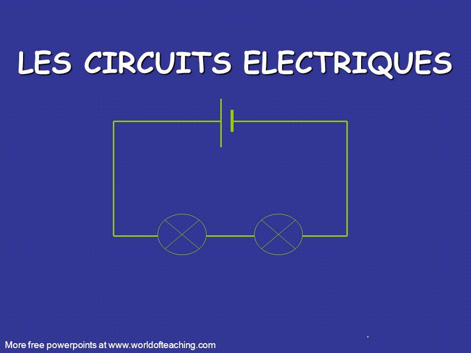 Measurer le courant A A Ceci est comment on dessine un ampèremètre dans un circuit.