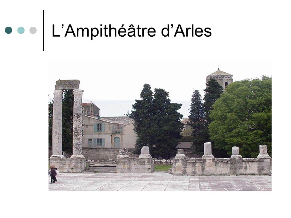 LAmpithéâtre dArles
