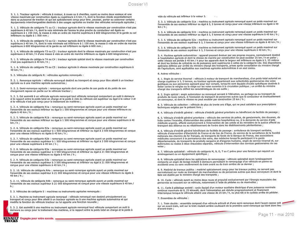 Dossier VI Page 11 - mai 2010