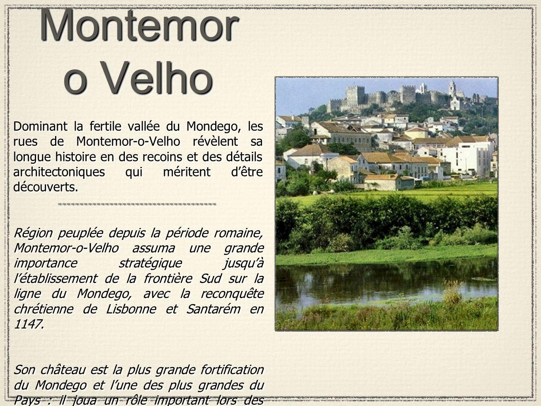 Montemor o Velho Dominant la fertile vallée du Mondego, les rues de Montemor-o-Velho révèlent sa longue histoire en des recoins et des détails archite