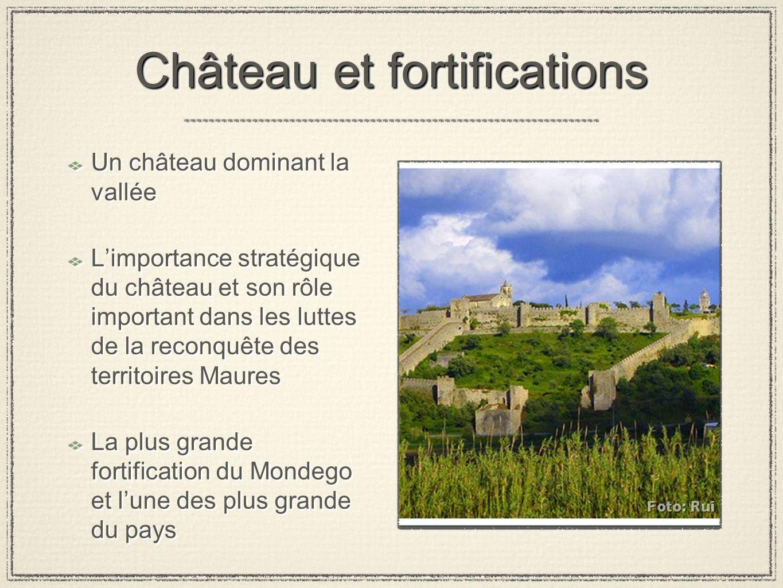 Château et fortifications Un château dominant la vallée Limportance stratégique du château et son rôle important dans les luttes de la reconquête des