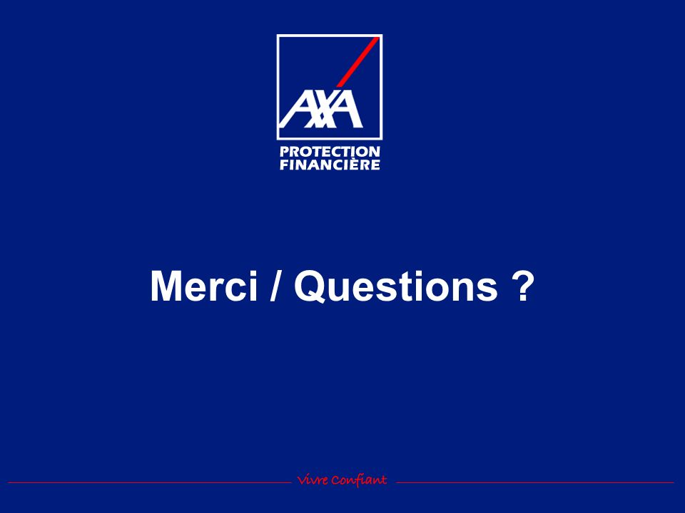 Merci / Questions