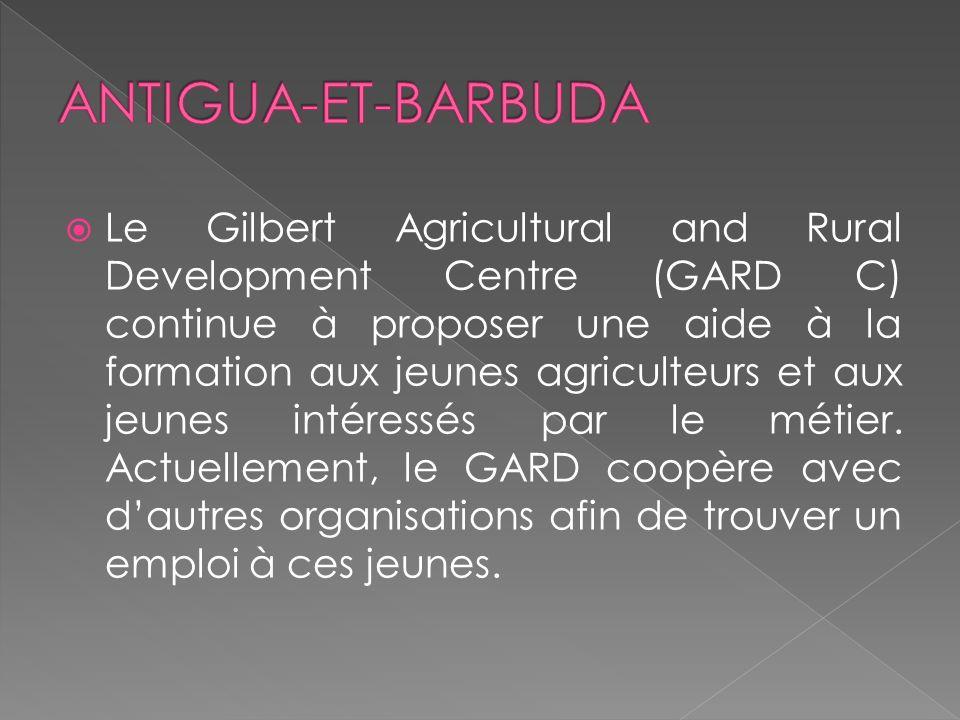 Le Gilbert Agricultural and Rural Development Centre (GARD C) continue à proposer une aide à la formation aux jeunes agriculteurs et aux jeunes intéressés par le métier.