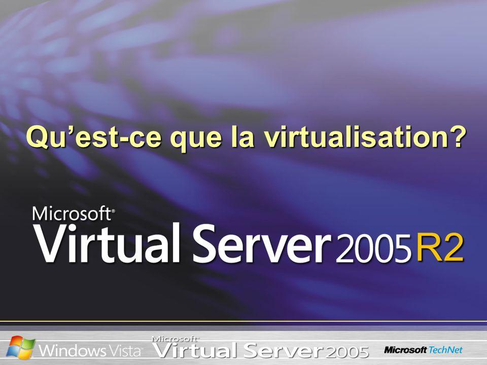 R2 Quest-ce que la virtualisation?