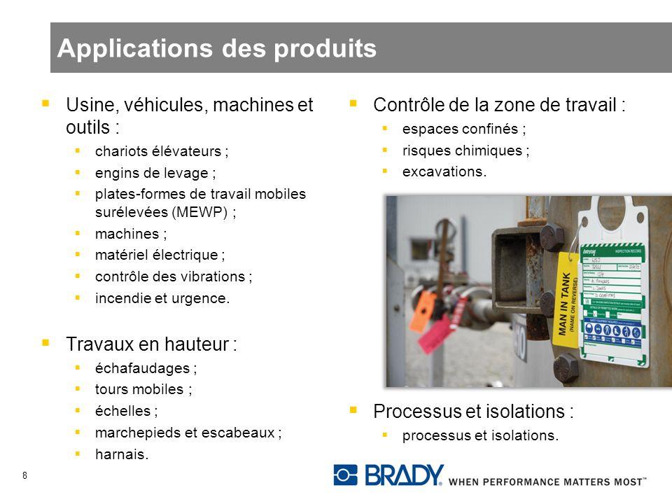 Usine, véhicules, machines et outils : chariots élévateurs ; engins de levage ; plates-formes de travail mobiles surélevées (MEWP) ; machines ; matéri