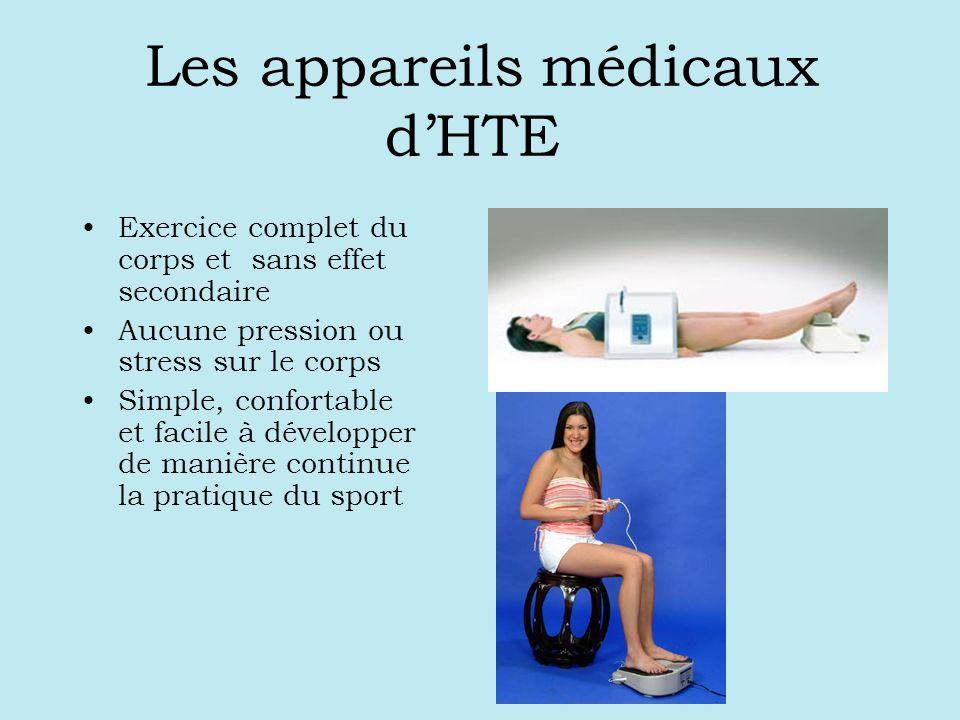 Les appareils médicaux dHTE Exercice complet du corps et sans effet secondaire Aucune pression ou stress sur le corps Simple, confortable et facile à développer de manière continue la pratique du sport