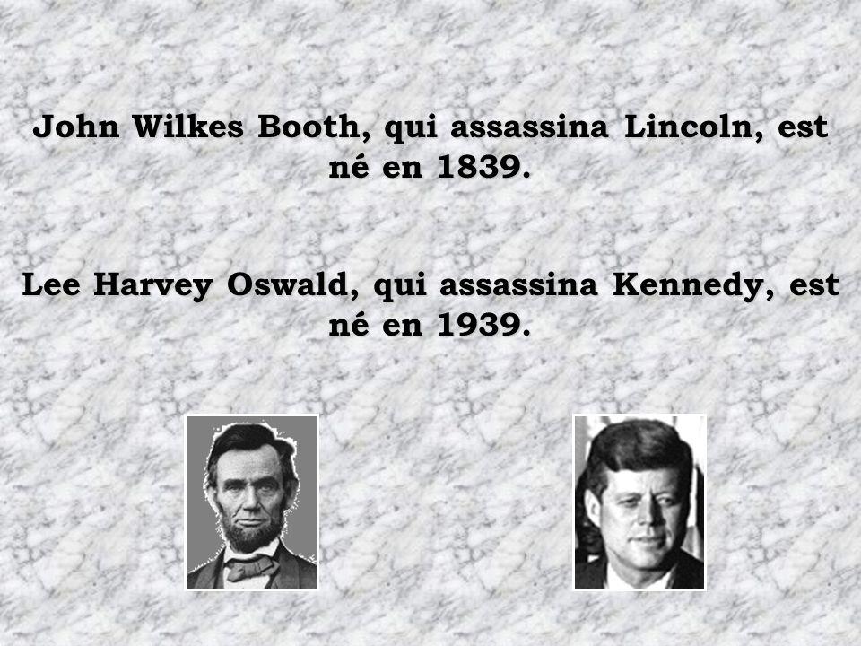 Le nom de chacun de leurs successeurs comportait 7 lettres, les deux sappelaient Johnson. Andrew Johnson, qui succéda à Lincoln, est né en 1808. Lyndo