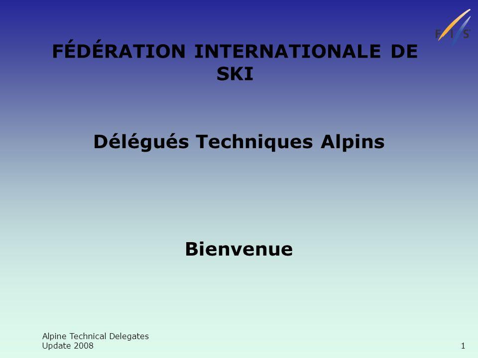 Alpine Technical Delegates Update 2008 12 Chronométrage Cherchez lerreur?